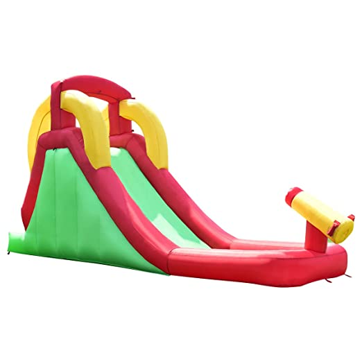 3bfc6d45fc18 Image Unavailable. Image not available for. Color  Costzon Inflatable Water  Slide ...