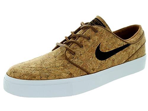 71ca5452e60 Nike Men s Zoom Stefan Janoski Elite Ale Brown Black White Skate Shoe 8.5  Men