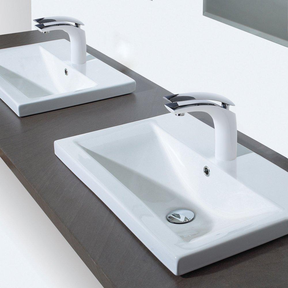 Derpras DP-FC03 Bathroom Sink Faucet Single Hole Single Handle ...