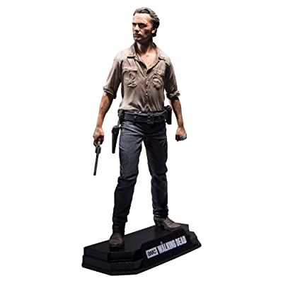 "McFarlane Toys The Walking Dead TV Rick Grimes 7"" Collectible Action Figure: Toys & Games"
