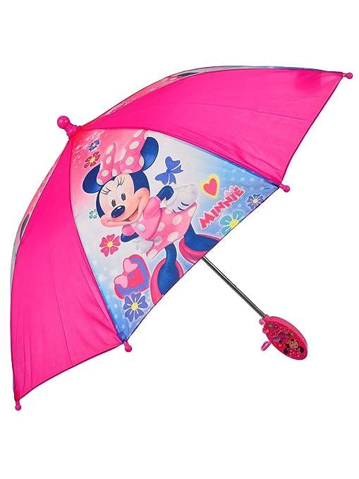 Amazon.com: Disney Minnie Mouse - Paraguas para niña: ANIME ...