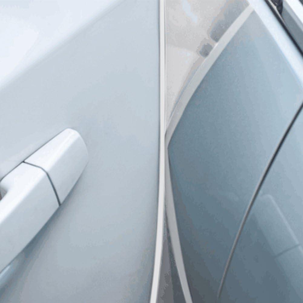 White OUERKEJI Car Door Edge Protector,16Ft 5M Car Door Edge Guards U Shape Edge Trim Rubber Seal Protector Car Protection Door Edge Fit for Most Car