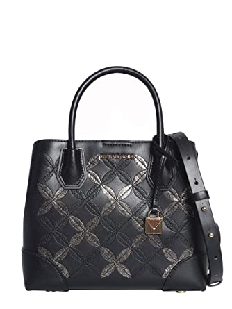 Image Unavailable. Image not available for. Color  Michael By Michael Kors  Women s 30H8gz5s2k039 Black Leather Handbag 5b9ef3dfa2