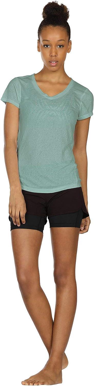 Corsa Fitness T-Shirt icyzone Donna Maglietta da Sportivo con Scollo Tondo