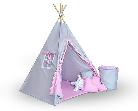 Tenda bambini teepee della tiny land tenda per giocare per bambini