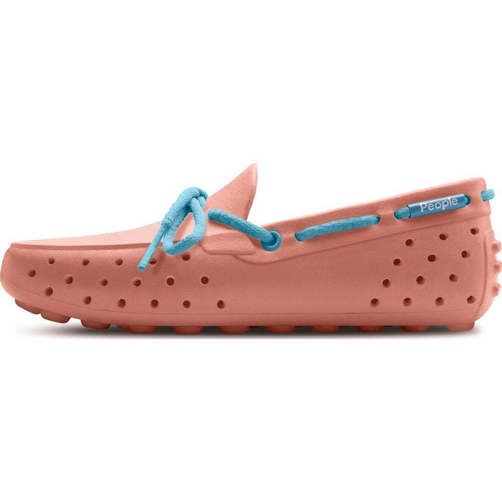 Peachy Pink//Daydream Blue Size J2 People Footwear Senna Junior Shoes