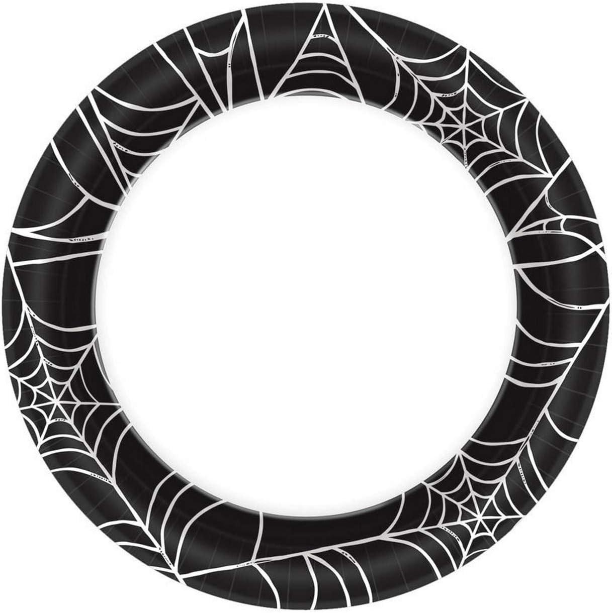 Halloween Spider Paper Plates