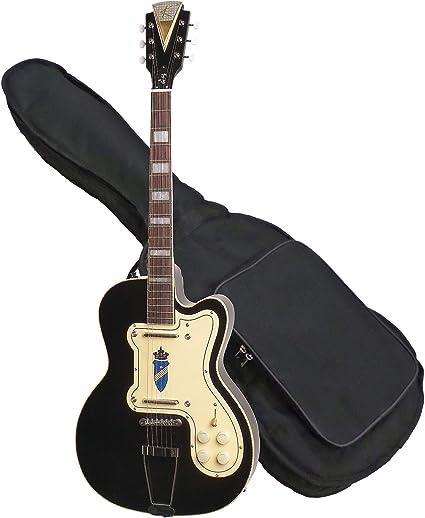 Kay Reissue K161VBK-B - Guitarra eléctrica, color negro: Amazon.es: Instrumentos musicales