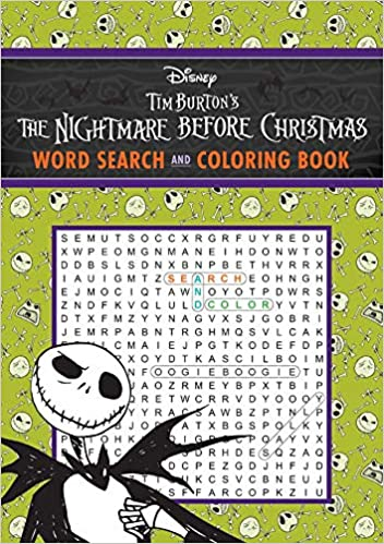 Amazon Com The Nightmare Before Christmas Word Search And Coloring Book Coloring Book Word Search 9781645176046 Editors Of Thunder Bay Press Books Trap x не в сети. the nightmare before christmas word