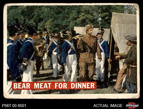 1956 Topps Davy Crockett Orange Back # 5 Bear Meat For Dinner (Card) Dean's Cards 2 - GOOD 2968418