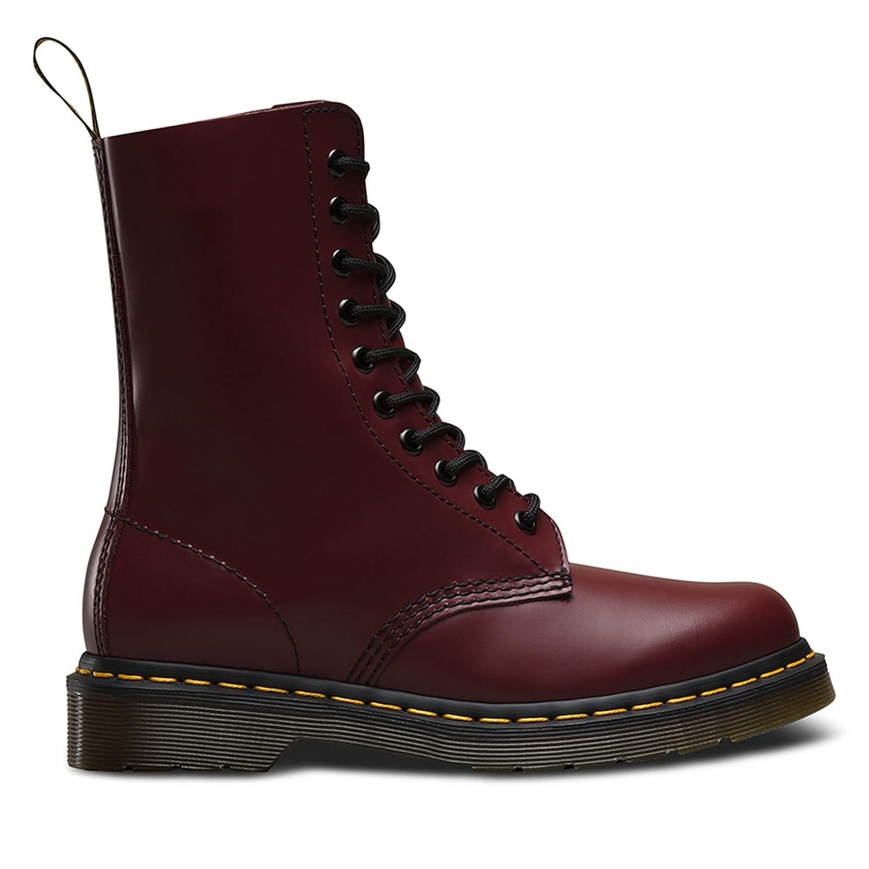 Dr Martens - 1490z -Unisex - Erwachsene Stiefel Rot