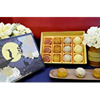 美國生計月餅 Sheng Kee Mooncake (小十二御禮禮盒 / Assorted 6 flavor(12))