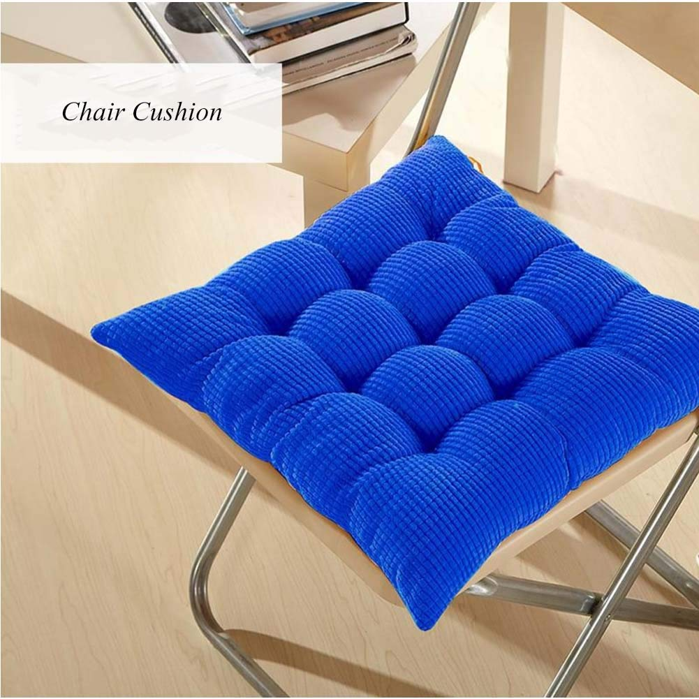 Amazon.com: Thicken Tufted Seat Cushion Pad,Solid Square ...