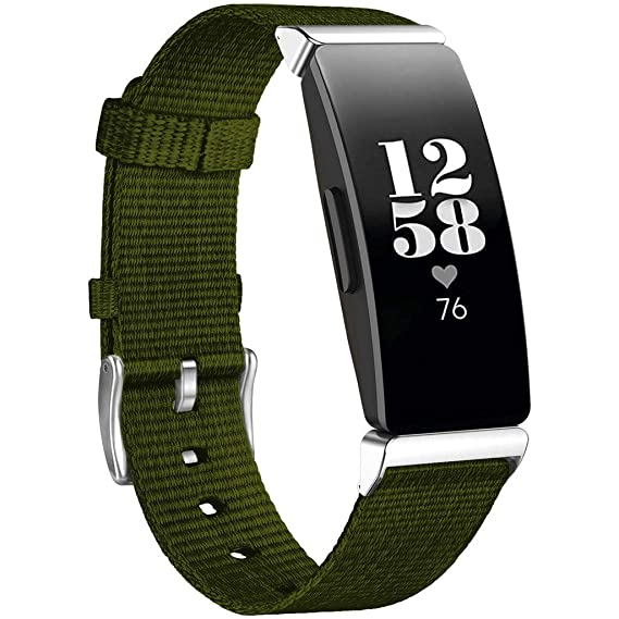 029f7e9bd5a0b Amazon.com: Womail Nylon Replacement Watch Band Wristband Wrist ...
