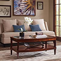 Madison Park Signature Dunkin Coffee Table Morocco Brown See below