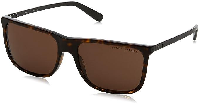 Ralph Lauren 0Rl8157, Gafas de sol para Hombre, Dark Havana ...