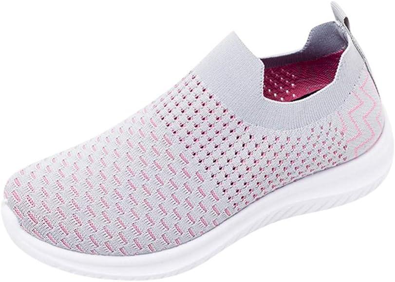 Chaussures Femme Ete Confortable Pas Cher Soldes Baskets