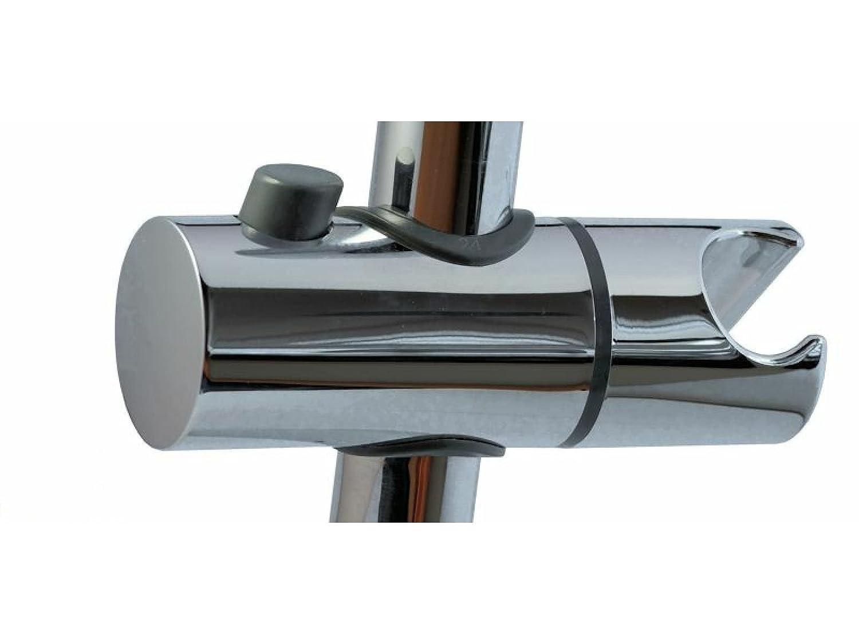 tecuro 6353505/Soporte de ducha para barra de pared Di/ámetro 23/mm Cromo
