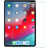 Al-HuTrusHi Screen Protector for iPad Pro 11-Inch (2018 Release Edge to Edge Liquid Retina Display),Face ID Compatible, Tempered Glass Film