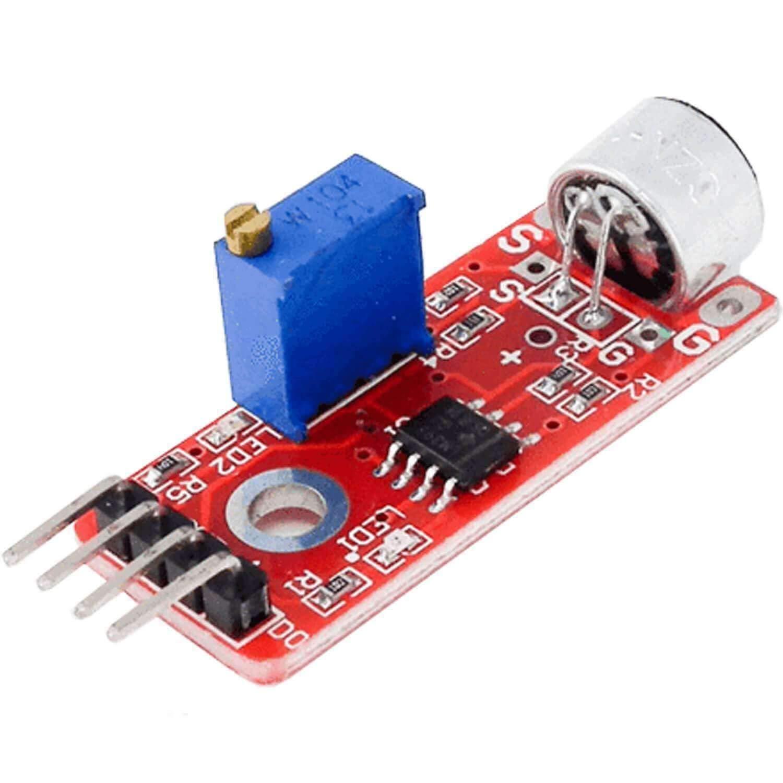 AZDelivery KY-037 Micrófono detección de sonido de alta sensibilidad módulo grande para Arduino con eBook incluido: Amazon.es: Industria, empresas y ciencia