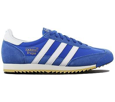 competitive price 7c6bb df82b adidas Dragon Vintage S32087 Chaussures pour Hommes Bleu Chaussures Homme  Sneaker Baskets Pointure  EU 40