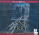 img - for Treachery at Lancaster Gate by Anne Perry Unabridged CD Audiobook book / textbook / text book