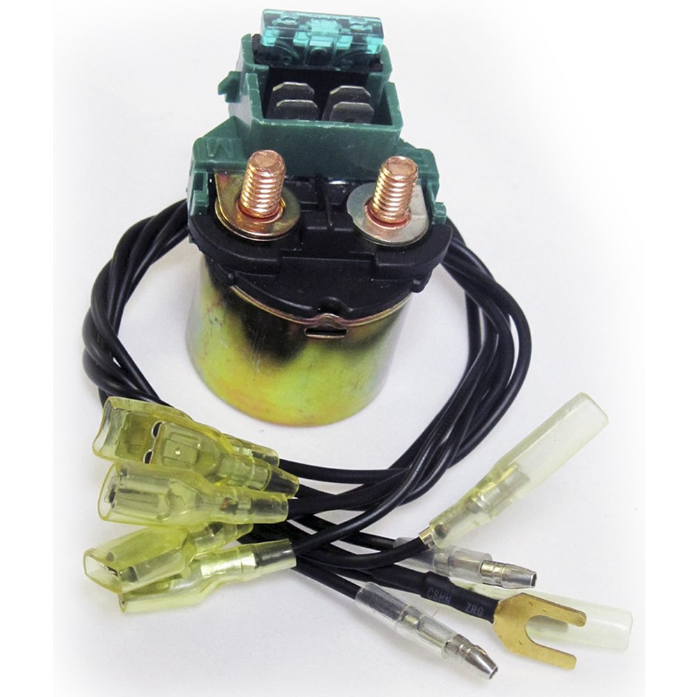 Amazon.com: Caltric Starter Solenoid Relay Fits Honda GL1200 GOLD WING 1200  Aspencade Interstate 1984-1987: Automotive