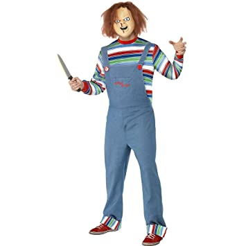 Traje de Chucky el muñeco diabólico disfraz Halloween ...