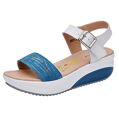 0c93f5b052b Women s Buckle Thick Bottom Sandals