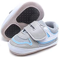 Delebao Baby Non-Slip First Walking Shoes Breathable Infant Toddler Sneakers