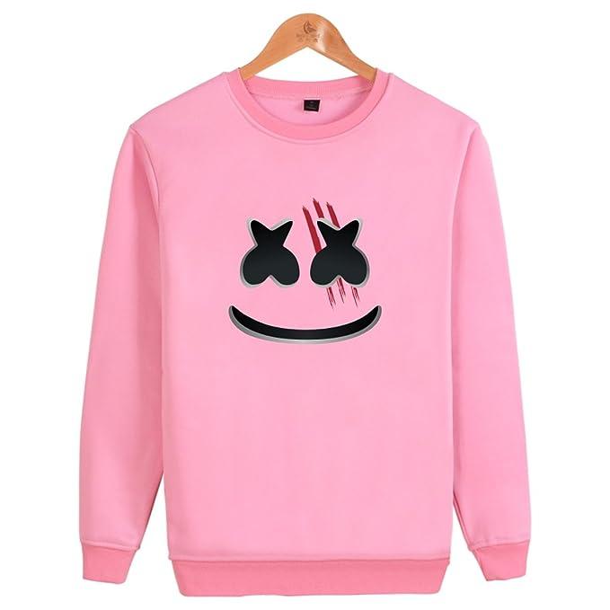 DJ Marshmello Mask Music Kids Boys Hoodie Jumpers sweatshirts Pant  Clothes Sets