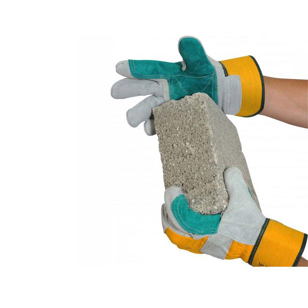 Ultimate industriel Usdpr double Palm Gants de manutention 1/paire taille unique