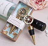 40pcs ''Our Adventure Begins'' Wine Bottle Stopper For Wedding Favor