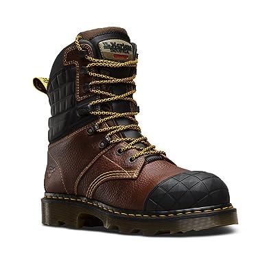 Dr. Martens Women s Moreton Steel Toe 8 Tie Boots aa54fda0f