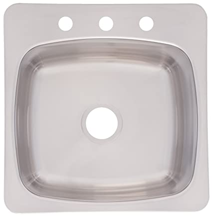 Franke Axis 20-Inch Wide x 10-Inch Deep Topmount 3-Hole Single Bowl on vintage sinks, old time sinks, old-style sink faucets, old-style doors, old-style shower faucets, glass sinks, old-style toilets, old-style tile, kohler farmhouse sinks, small farm sinks, youngstown kitchens by mullins sinks, youngstown porcelain sinks, old-style shower heads, old metal sinks, old-style refrigerators, old-style furniture, old kohler sinks, old farm sinks, old-style bathrooms, old-fashioned sinks,