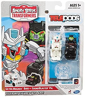 Angry Birds Transformers Telepods Ultra Magnus Bird vs. SoundBlaster Figure Pack by Angry Birds Transformers