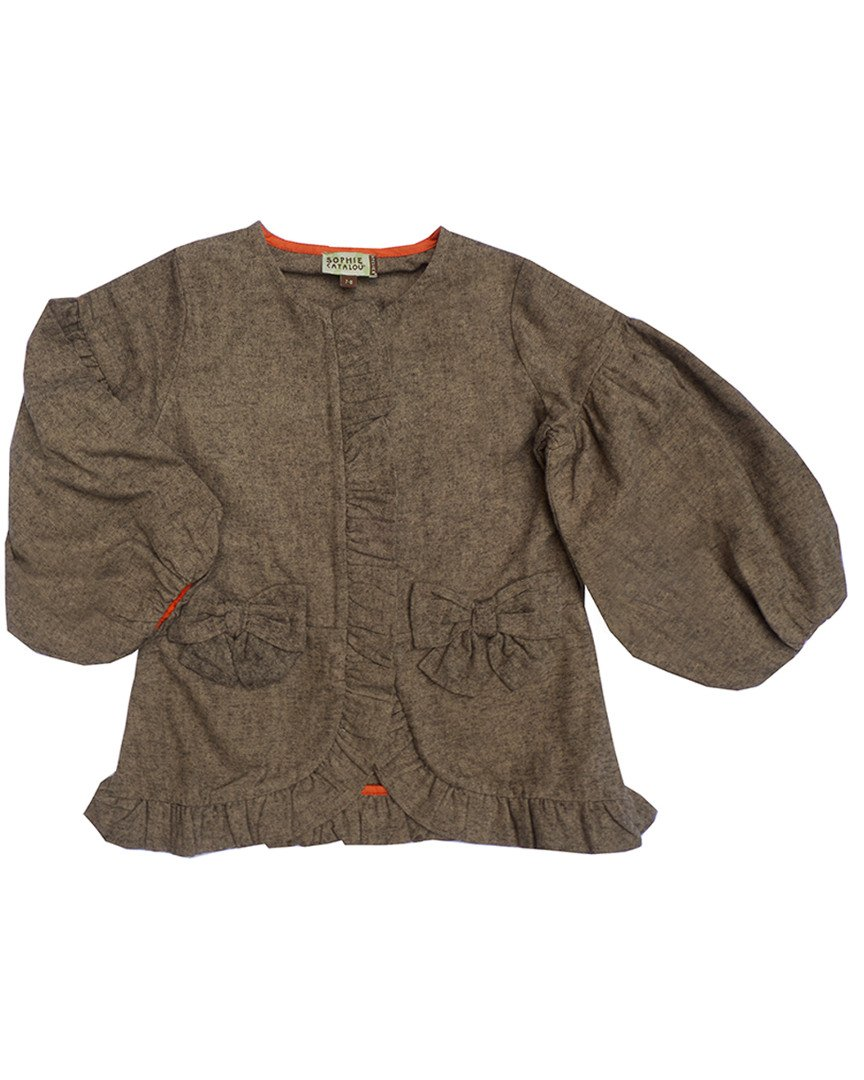 SOPHIE CATALOU CO. Girls Sophie Catalou Girls' Jacket, 6 by SOPHIE CATALOU CO.