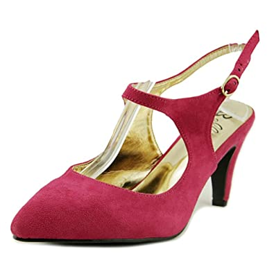 2560d8f36f7 Amazon.com | Bellini Womens Nica Open Toe Slingback Classic Pumps ...