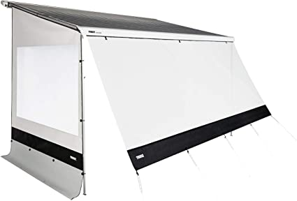 Thule Rain Blocker G2 Large 2 50 Seitenwand Seitenteile Camping Vorzelt Sonnenschutz Markise Sichtschutz Sport Freizeit