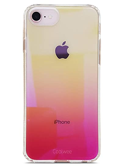 iphone 8 case clear pink