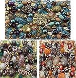 3 x packs of Acrylic Jewelry Making Mixed Beads