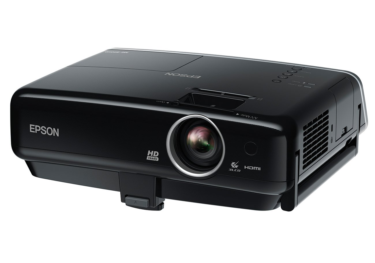 EPSON dreamio ホームプロジェクター MG-850HD WXGA 2,800lm 10w×2スピーカー iPhone/iPod/iPadドック搭載 MG-850HD   B005QE5E7E