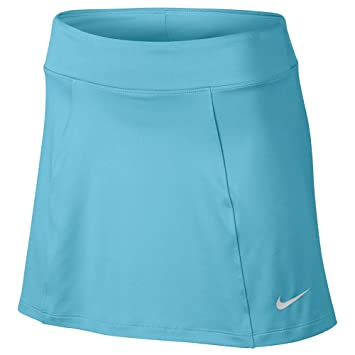 973f7b8e9b4c Image Unavailable. Image not available for. Color  Nike Precision Knit 2.0 Golf  Skort 2017 Women Vivid Sky Metallic Silver Small