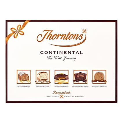 Thorntons Continental Chocolate Gift Collection (284g): Amazon.ca: Grocery