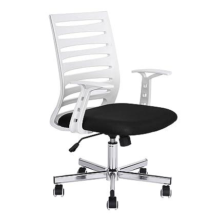 Amazoncom GreenForest Home Office Desk Chair MidCentury Modern