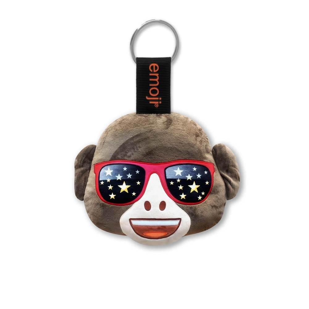 Emoji® Llavero Mono Gafas De Sol Navidad Oficial: Amazon.es ...