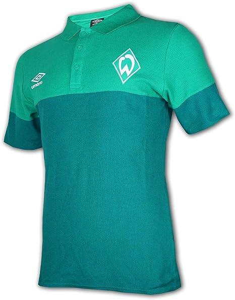 Umbro SV Werder Bremen - Polo de fútbol, Color Verde, Unisex ...