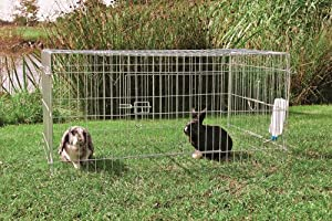 Trixie Rabbit Run Enclosure Galvanised