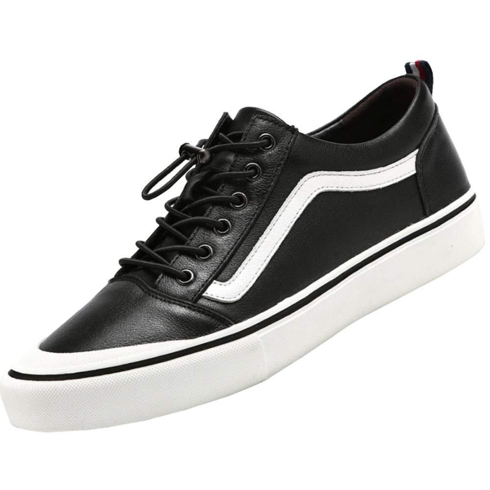 Herrenmode Freizeitschuhe Wilde Jugend Schuhe Sportschuhe (Farbe   Weiß, Größe   43EU)
