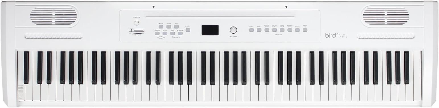 Bird XP1 wh Piano Digital portátil 88 teclas color blanco ...